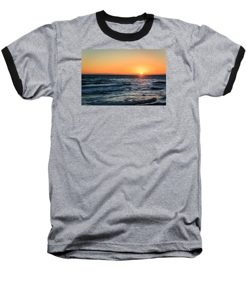 Sunrise In Nags Head Baseball T-Shirt