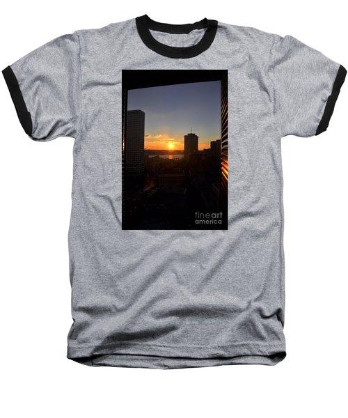 Sunrise In New Orleans Baseball T-Shirt