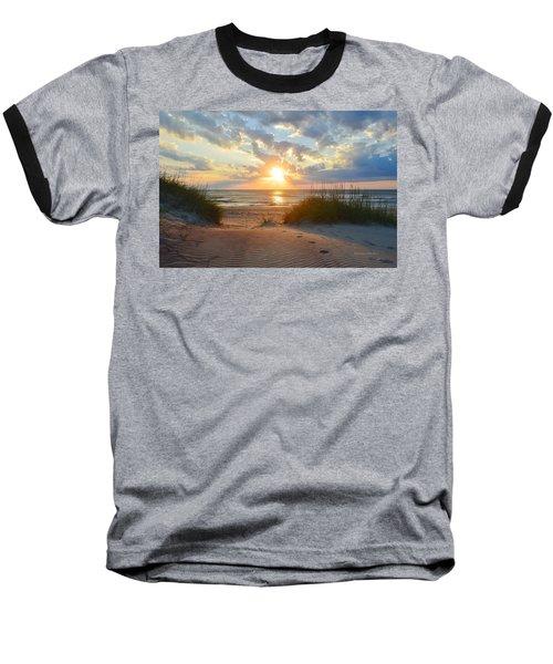 Sunrise In South Nags Head Baseball T-Shirt