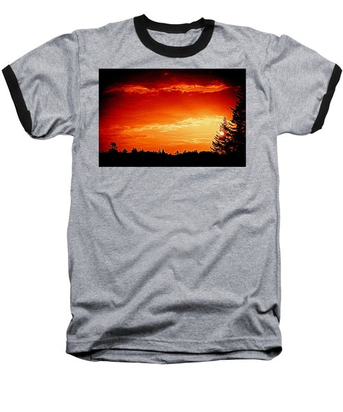 Sunrise In Southport Maine Baseball T-Shirt