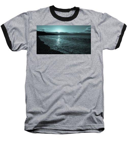 Sunrise In Stonehaven B-w Baseball T-Shirt