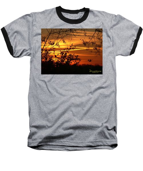 Sunrise In Tennessee Baseball T-Shirt by EricaMaxine  Price