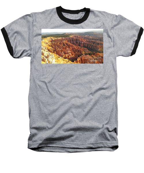 Sunrise In The Canyon Baseball T-Shirt