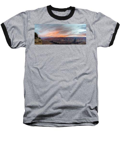 Sunrise In The Canyon Baseball T-Shirt by Jon Glaser
