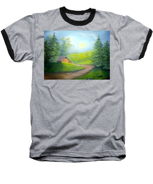 Sunrise In The Country Baseball T-Shirt