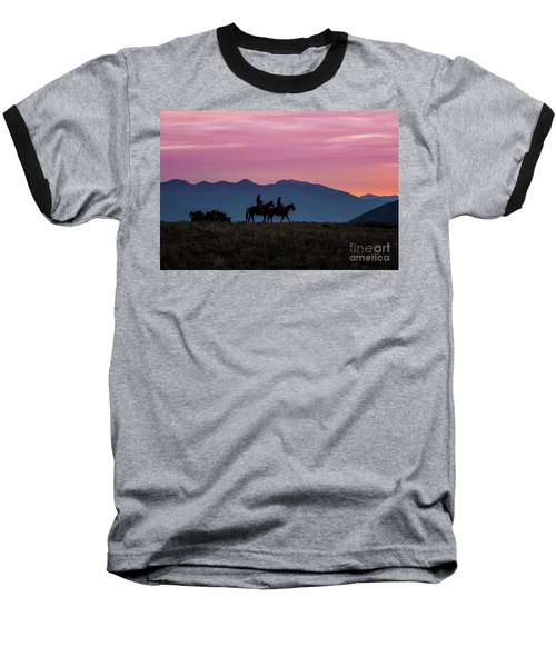Sunrise In The Lost River Range Wild West Photography Art By Kay Baseball T-Shirt