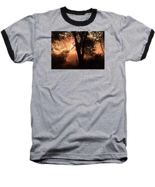 Sunrise In The Marsh 3 Baseball T-Shirt