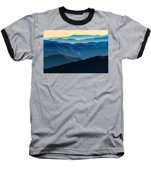 Sunrise In The Smokies Baseball T-Shirt