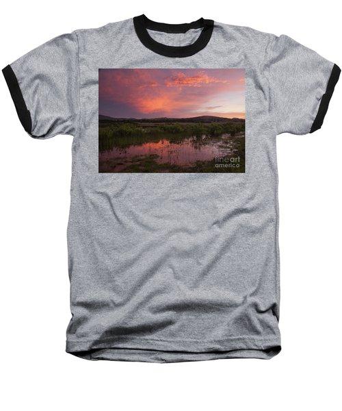 Sunrise In The Wichita Mountains Baseball T-Shirt