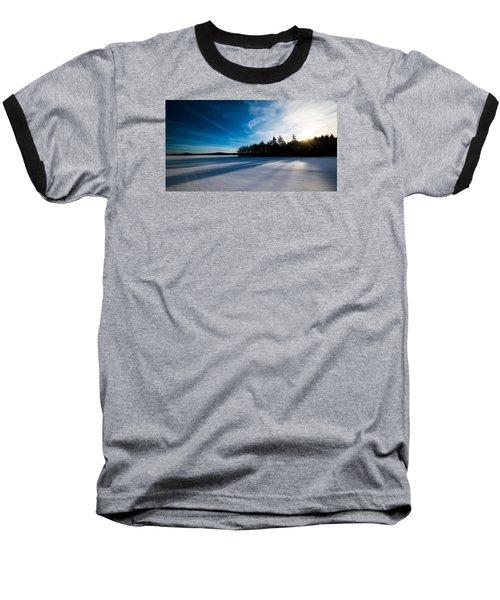 Sunrise In Winter Baseball T-Shirt
