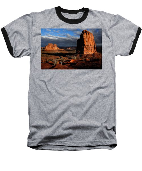 Sunrise La Sal Mountains Baseball T-Shirt
