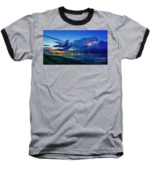 Sunrise Lightning Baseball T-Shirt