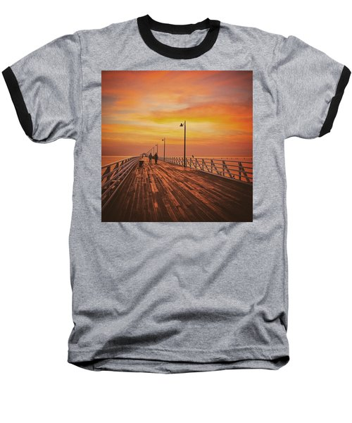 Sunrise Lovers Baseball T-Shirt
