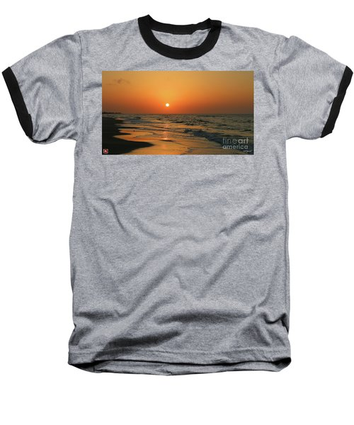 Sunrise Mexico Beach 3 Baseball T-Shirt