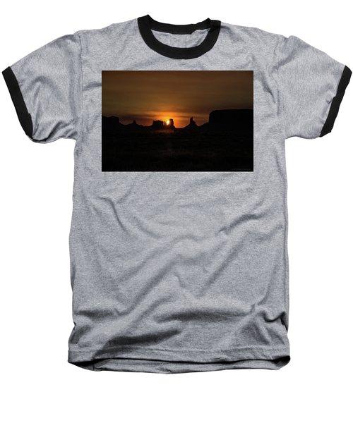 Sunrise Monument Valley Baseball T-Shirt