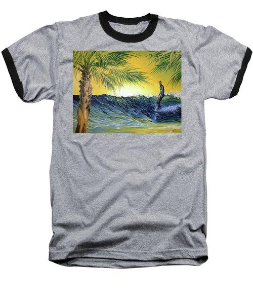 Sunrise Nose Ride Baseball T-Shirt