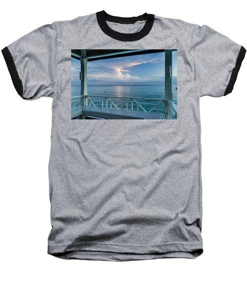 Sunrise, Ocho Rios, Jamaica Baseball T-Shirt