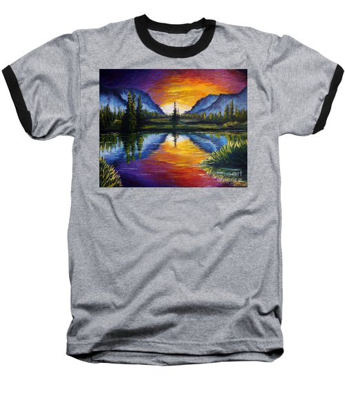 Sunrise Of Nord Baseball T-Shirt