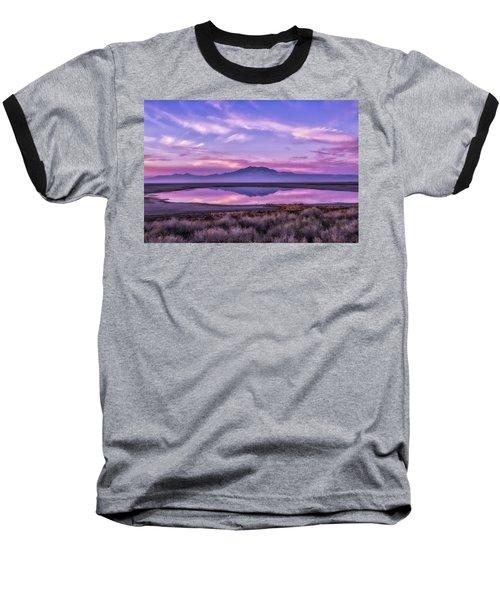 Sunrise On Antelope Island Baseball T-Shirt