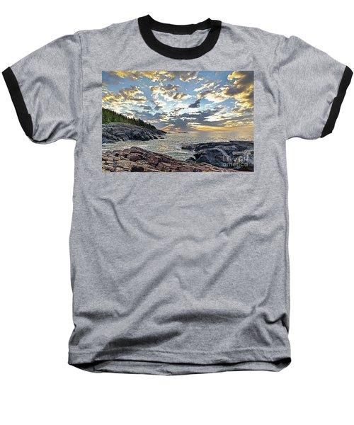Sunrise On Christmas Cove Baseball T-Shirt