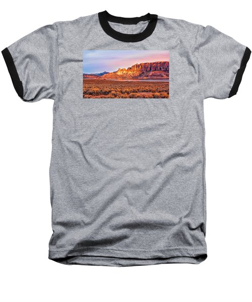 Sunrise On Dillon Pinnacles Baseball T-Shirt