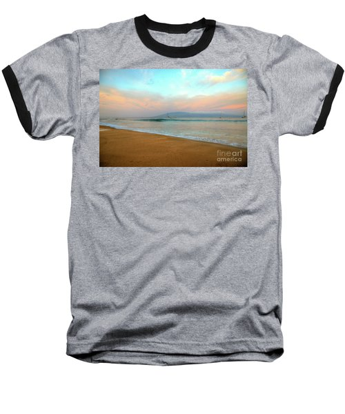 Baseball T-Shirt featuring the photograph Sunrise On Ka'anapali by Kelly Wade