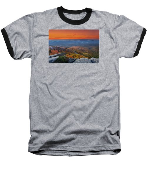 Sunrise On Rough Ridge  Baseball T-Shirt