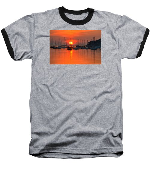 Sunrise On Salem Harbor Salem Ma Baseball T-Shirt