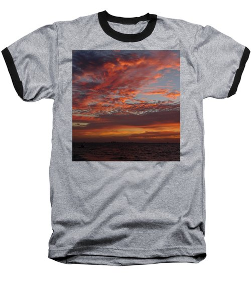 Baseball T-Shirt featuring the photograph Sunrise On Sanibel Island 2 by Melinda Saminski