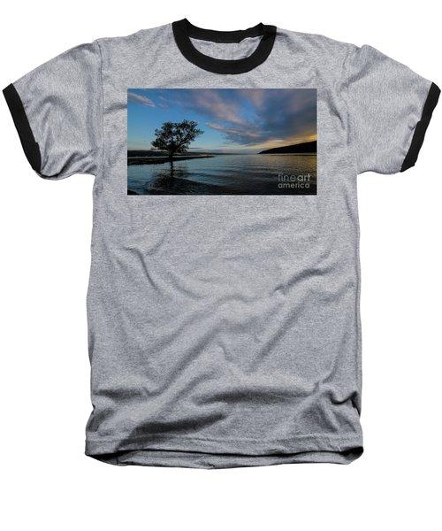 Sunrise On Seneca Lake Baseball T-Shirt