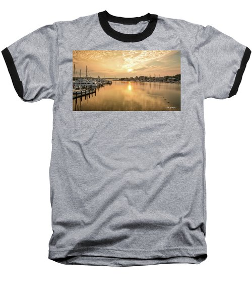 Sunrise On Spa Creek Baseball T-Shirt