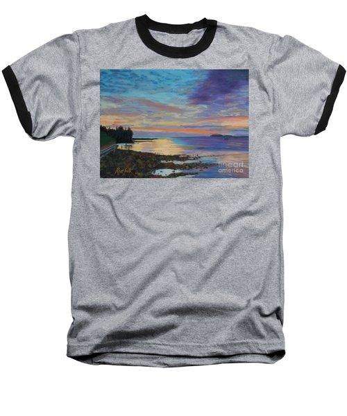 Sunrise On Tancook Island  Baseball T-Shirt