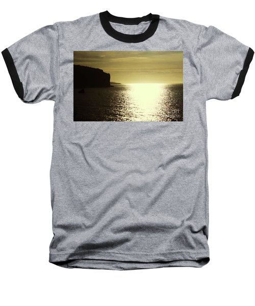 Baseball T-Shirt featuring the photograph Sunrise On The Almalfi Coast by Polly Peacock
