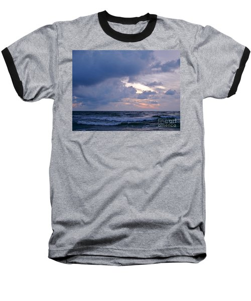 Sunrise On The Atlantic Baseball T-Shirt