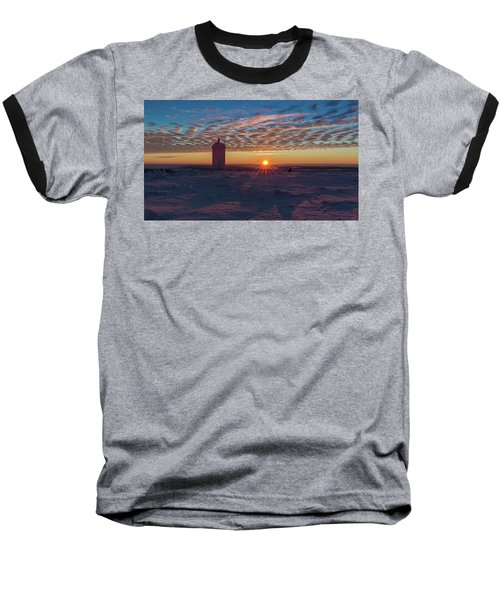 Sunrise On The Brocken, Harz Baseball T-Shirt
