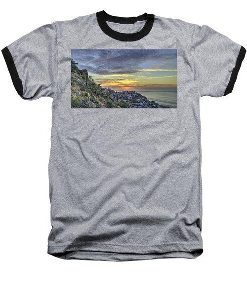 Sunrise On The Coast Baseball T-Shirt