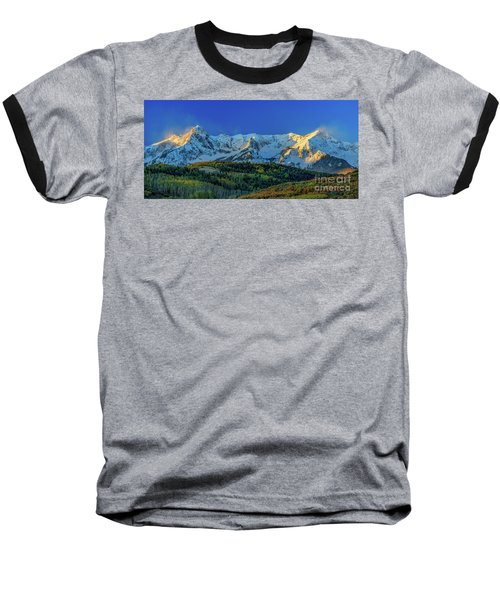 Sunrise On The Dallas Divide Baseball T-Shirt