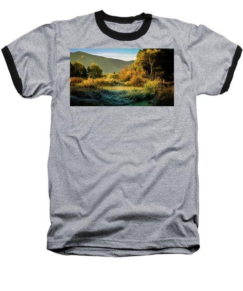 Sunrise On The Duck Marsh Baseball T-Shirt