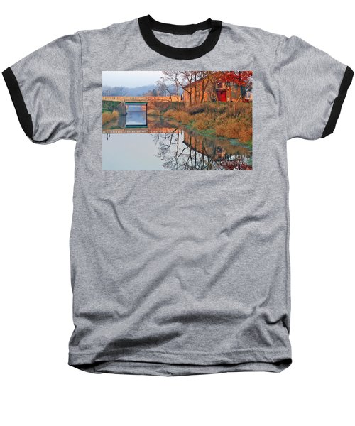Baseball T-Shirt featuring the photograph Sunrise On The I And  M Canal by Paula Guttilla