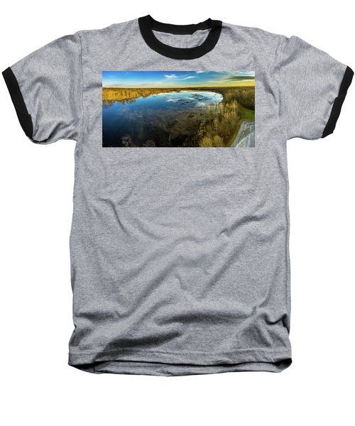 Sunrise On The Lake Baseball T-Shirt