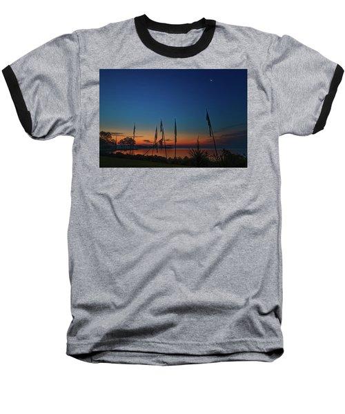 Sunrise On The Neuse 1 Baseball T-Shirt