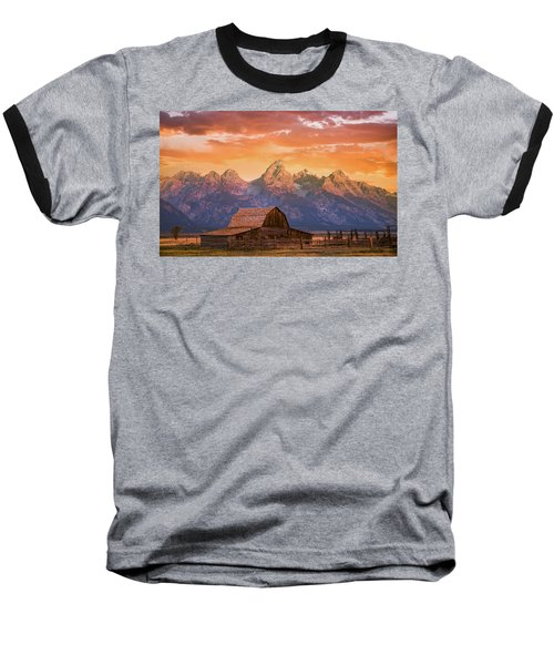 Sunrise On The Ranch Baseball T-Shirt