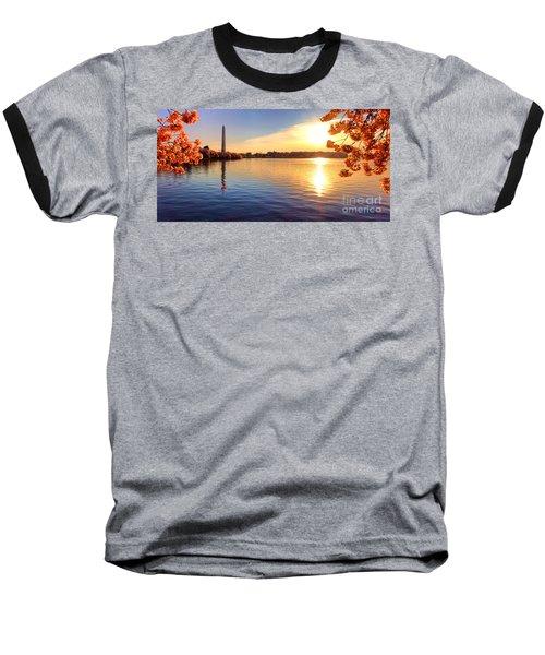 Sunrise On The Tidal Basin Baseball T-Shirt