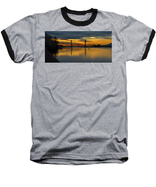 Sunrise On The Willamette Baseball T-Shirt