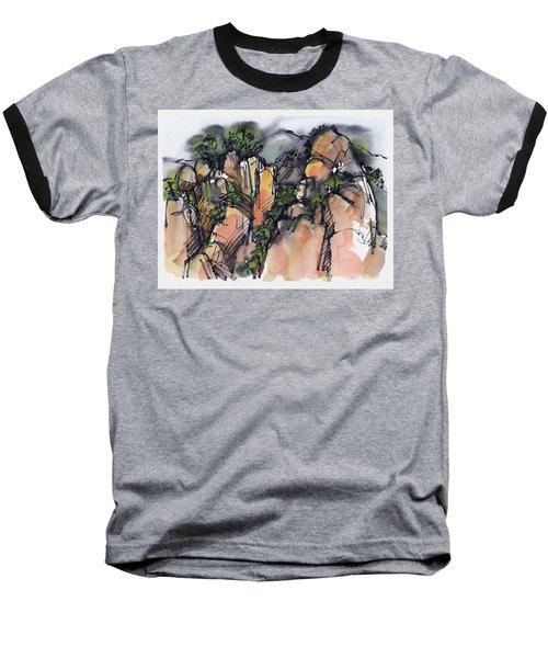 Sunrise On The Yellow Mountain, China Baseball T-Shirt