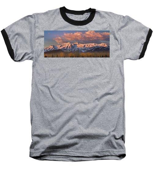 Sunrise On Timpanogos Baseball T-Shirt