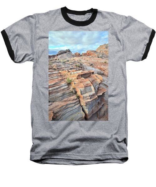 Sunrise On Valley Of Fire Baseball T-Shirt by Ray Mathis
