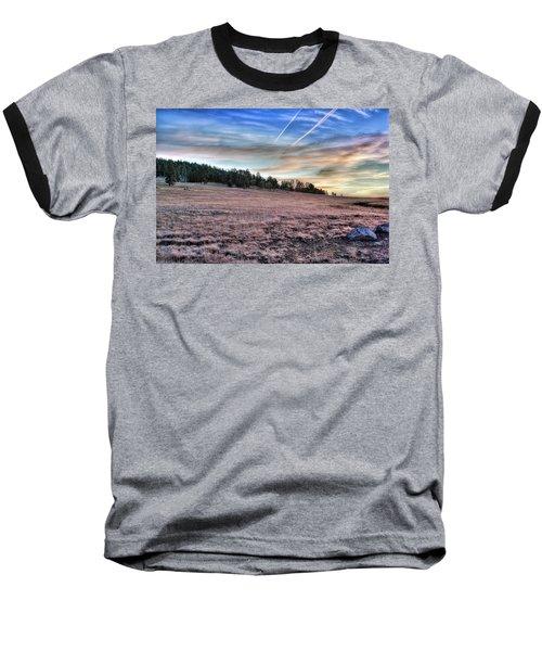 Sunrise Over Ft. Apache Baseball T-Shirt