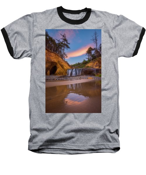 Baseball T-Shirt featuring the photograph Sunrise Over Hug Point by Darren White