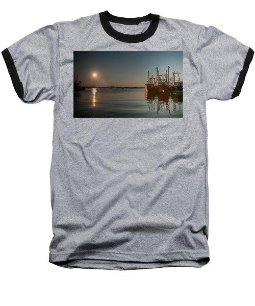 Sunrise Over New Bedford, Baseball T-Shirt